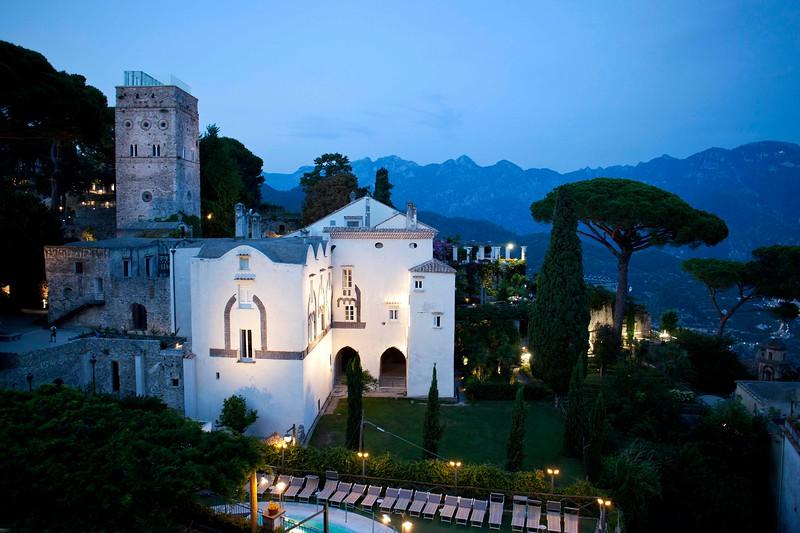 Torre Maggiore, Moorish Tower, Villa Rufolo, Ravello