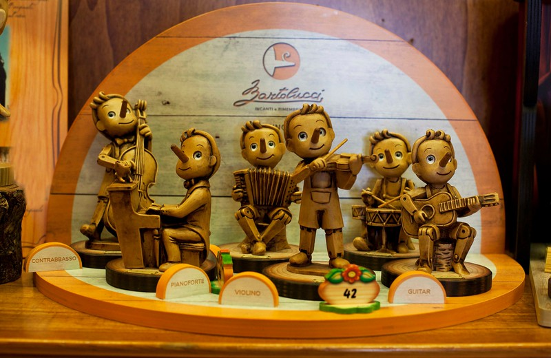 Hand Carving from Zartolucci Pinocchio Shop