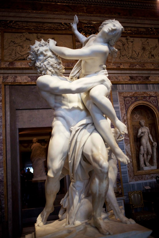 Bernini's Pluto and Proserpina
