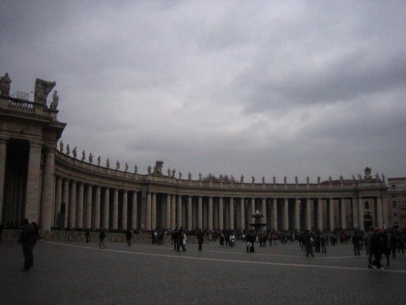 vatican piazza
