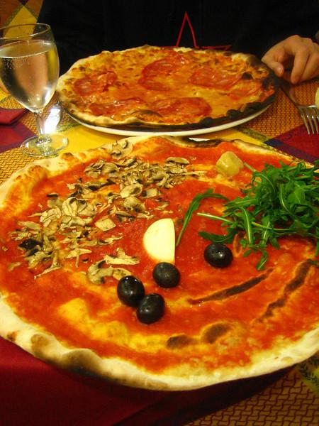 pizza capriccioso: feeling capricious