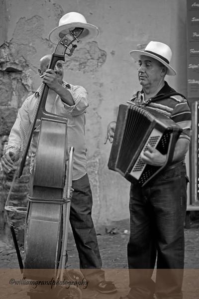 Street Musicians, Trastevere