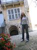 cute back street in vesoul