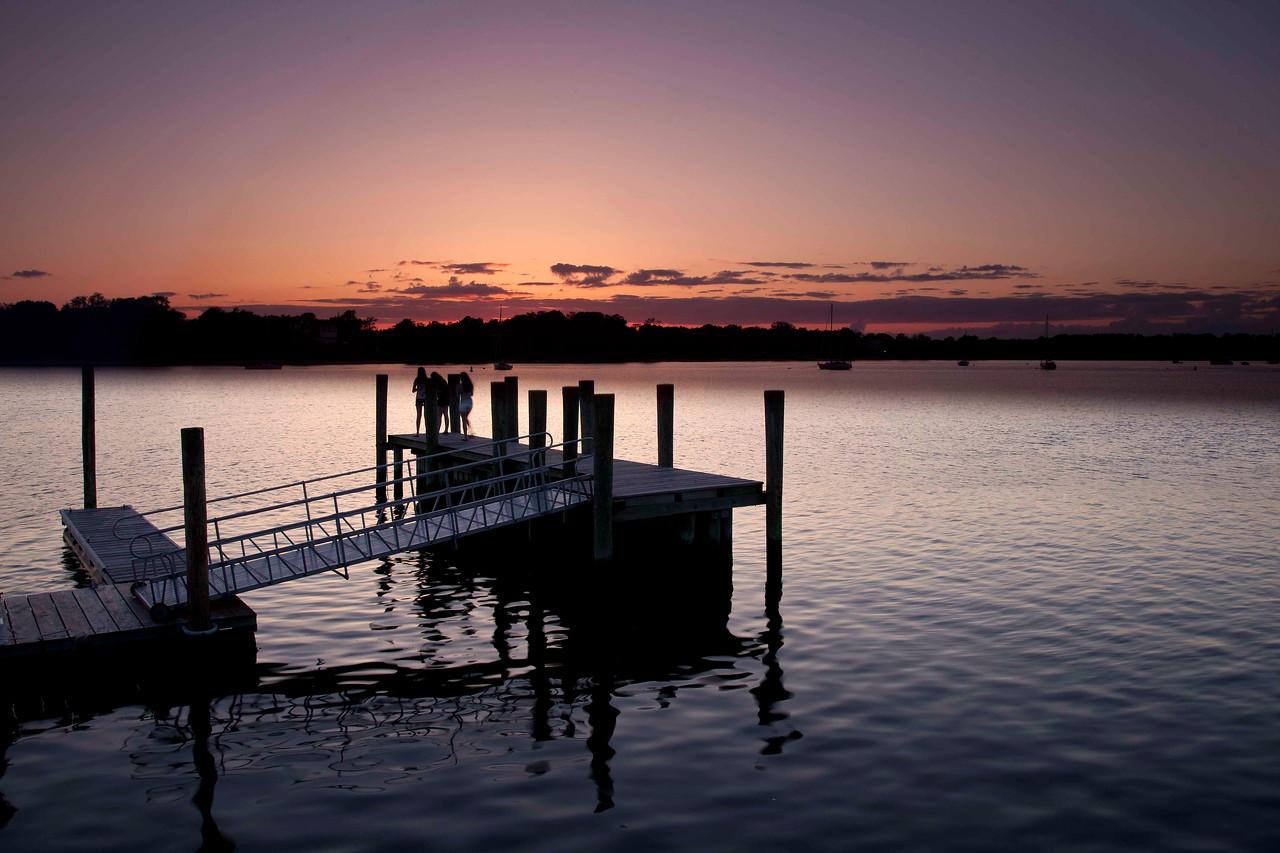 Watching the Sunset, Sag Harbor