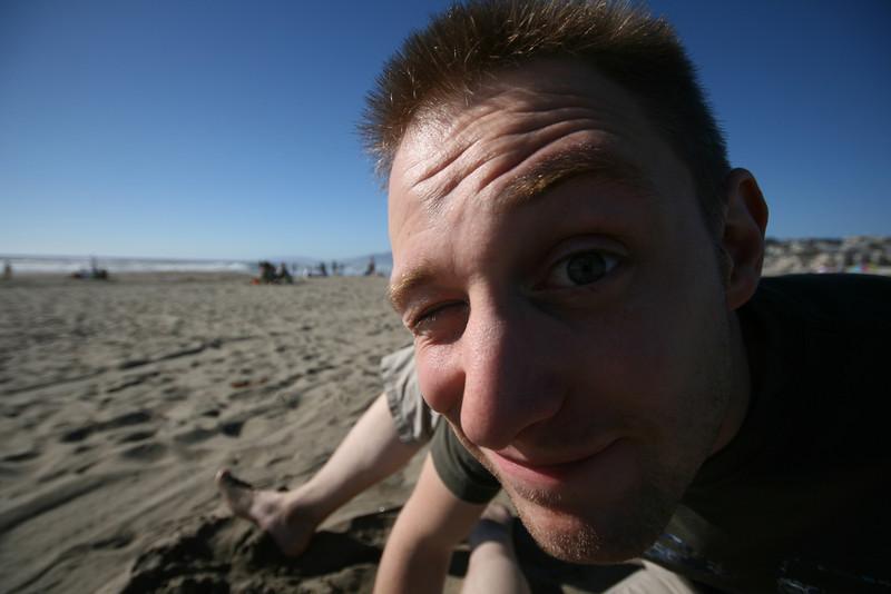t on ocean beach