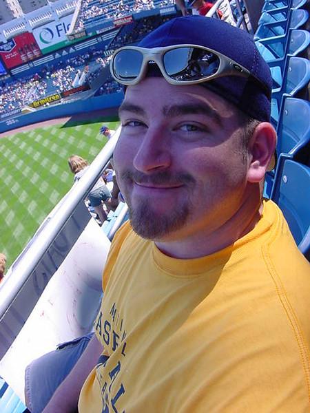 josh and i went to yankee stadium