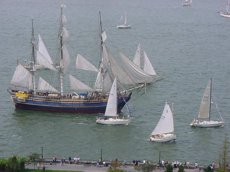 old ship, new sails