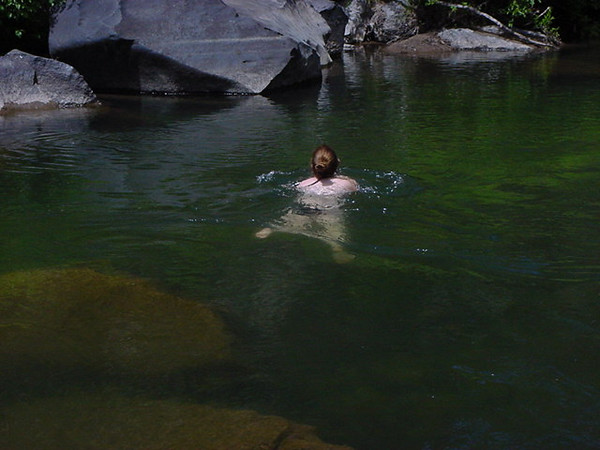 yes i do like cold river swimming