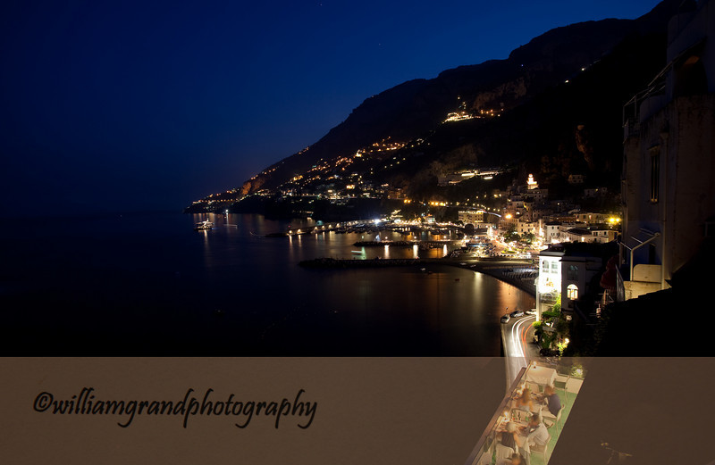 Amalfi Night