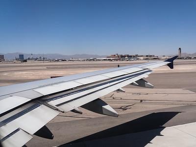 Arriving in Vegas