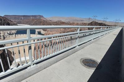 Nevada/Arizona Marker, Mike O'Callaghan-Pat Tillman Memorial Bridge