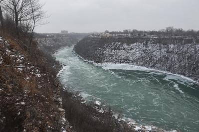Whirlpool, facing Niagara Falls