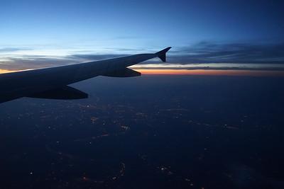 Departing Vegas