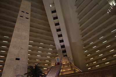 The Luxor Hotel and Casino