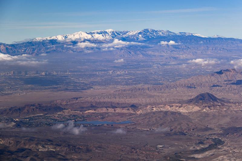 Lake Las Vegas, Downtown Las Vegas and Mount Charleston