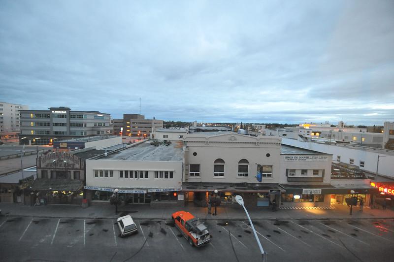 11 pm in Fairbanks