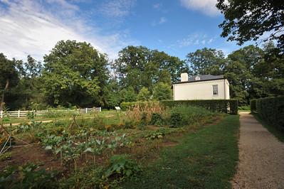Garden in back of Arlington House