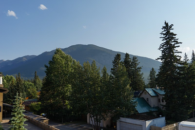 View from Banff Park Lodge