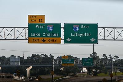 Roadside between Lake Charles and Avery Island