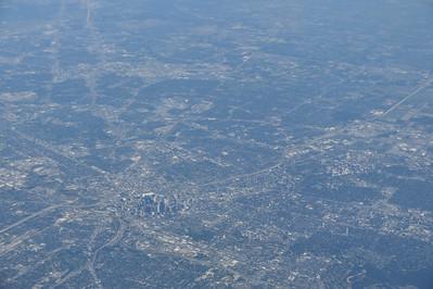 Houston, Texas; Airborne - Atlanta to San Antonio