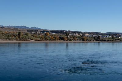Laughlin, Nevada looking across the Colorado River