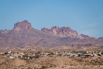 Laughlin, Nevada looking at Bullhead City, Arizona