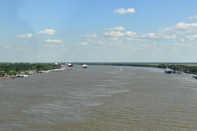 Crossing the Mississippi River on Route 70
