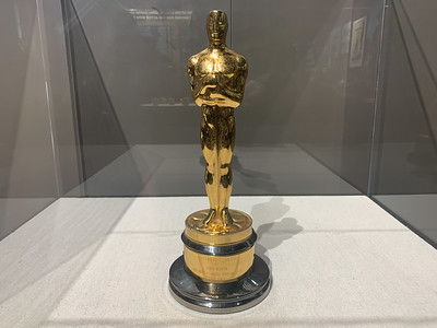"John Wayne's Academy Award for ""True Grit"""