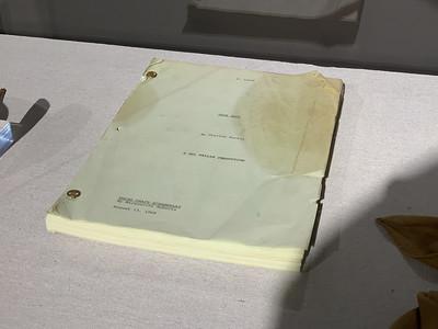 "John Wayne's Copy of the ""True Grit"" Script"