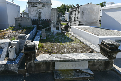 In Ground Burial, St Louis Cemetery No. 3