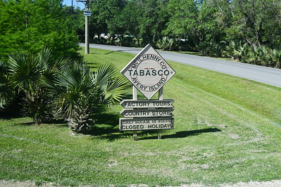 The Only Place Tabasco is Manufactured in the World