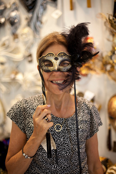 Carnival lasts two weeks, but masks are on display throughout the year.
