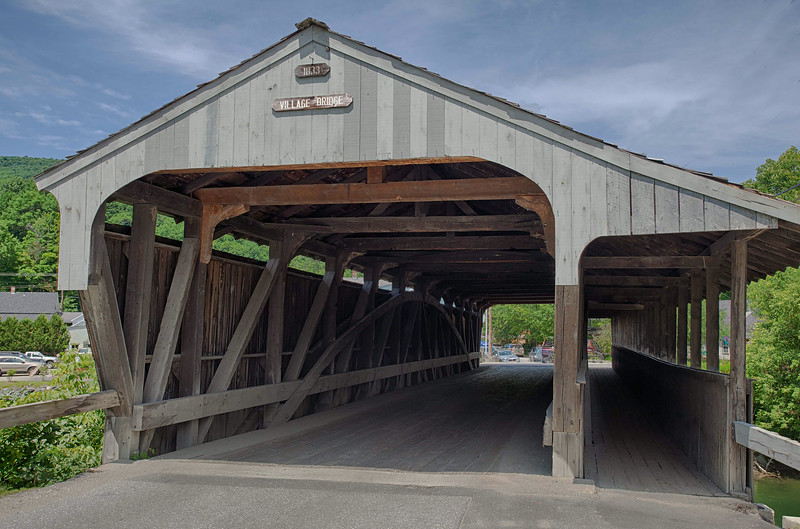 Covered Bridge, Bridge Road, Waitsfield