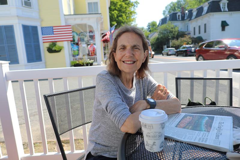 Breakfast at Mon Vert Café, Woodstock, Vt.