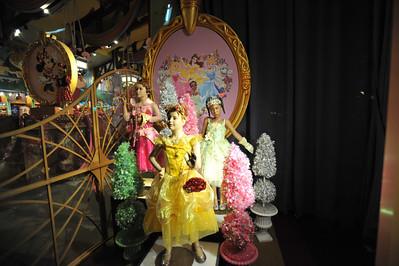 World of Disney Store Window