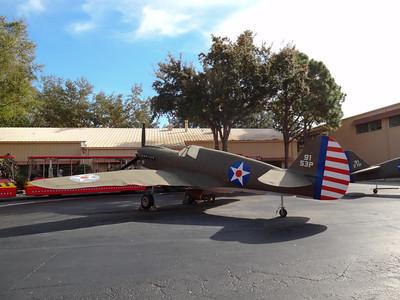 Pearl Harbor movie replica plane
