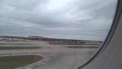 Takeoff from Orlando International Airport