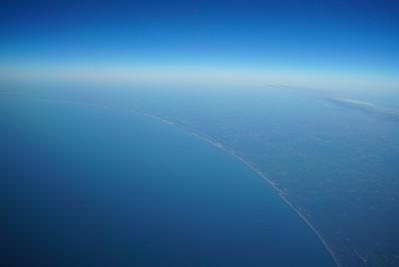 Off the coast of southern North Carolina