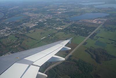 Flying to Orlando