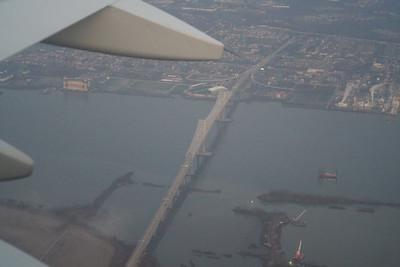 Philadelphia Departure - Commodore Barry Bridge