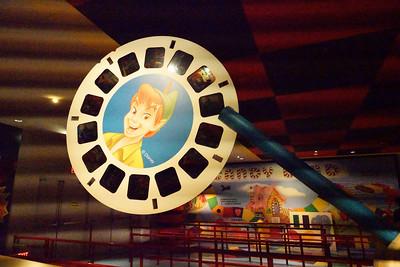 Toy Story Ride Queue