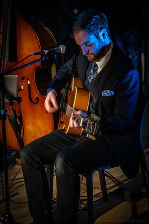Guitar in Blue