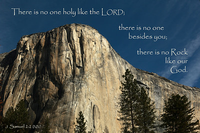 "(1 Samuel 2:2)  ""No Rock Like Our God"""