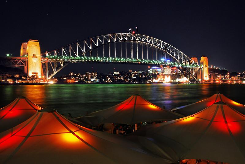 The harbour bridge, Sydney