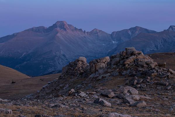 Twilight, Rocky Mountain National Park