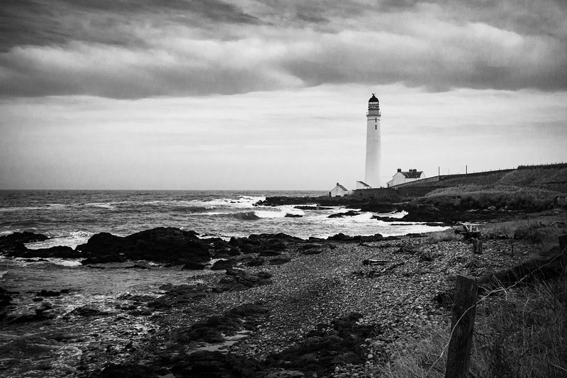 Scurdiness Lighthouse