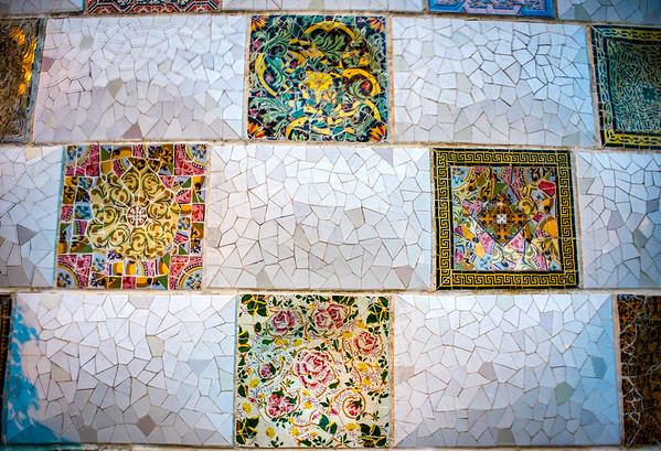 Tiles, Park Guell