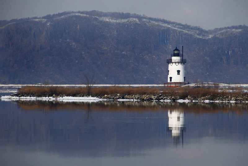 Tarrytown lighthouse aka the Kingsland Point Lighthouse
