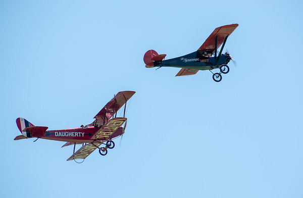 "1918 Curtiss JN4D ""Jenny"" and 1928 Velie Monocouple 70"