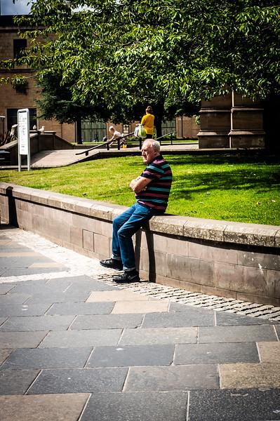 Sitting, Watching, Waiting